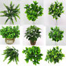 REALISTIC ARTIFICIAL GREEN PLANT TREE SUCCULENT PLANT HOME OFFICE DECOR
