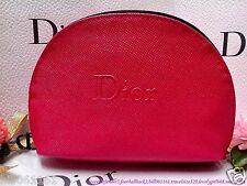 Eu3# Dior ☆ Fashion Peach Red Cosmetics Bag ☆ **Latest Season** FREE SHIP*