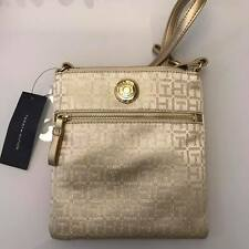Authentic Tommy Hilfiger Crossbody Bag in Gold
