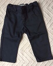 Bonpoint Baby Boy Grey Cotton Pants Size 18M *NWT*