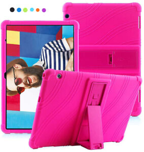 Kids Case Cover For Huawei MediaPad T5 10 T3 10 M5 Lite 10 Soft Silicone Stand