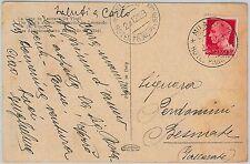 53303 - REGNO Storia Postale: CARTOLINA con annullo: HOTEL  Principe di Savoia