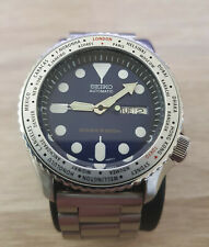 Seiko SKX009 Mod With World Timer Modified Bezel - Automatic Mens Watch 7S26