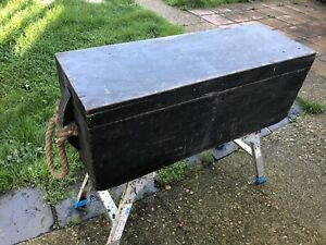 """Vintage Carpenters Tool Chest 37 1/2"""" wide x 13 1/4"""" depth x 14"""" high"""