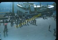 Manila Port Street Scene Philippines 1950s 35mm Slide Vtg Red Border Kodachrome