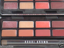 NEW LED BOBBI BROWN MINI/TAVEL SIZE HOLIDAY LIP PALETTE, 8 colors