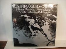 Milnes, Pavarotti, Freni, Ghiaurov, Chailly / Rossini Guglielmotell Decca Box UK