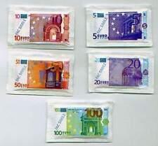 ZUCCHERO IN BUSTINA SCATOLA KG.10 BANCONOTA EURO  kit risparmio 4 SCATOLE