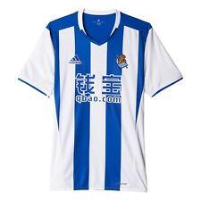 Camisetas de fútbol de clubes españoles para hombres azul talla L