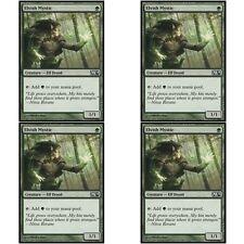 4 x ELVISH MYSTIC NM mtg M14 Green - Elf Druid Com