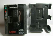 """TOSHIBA KT-RS1 """"Walky"""" Cassette Recorder, Black"""