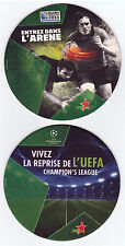 HEINEKEN RUGBY Sous bock coaster deckel #7 World Cup 2011 Champions league foot