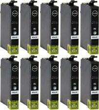 10 CARTUCCE NERE COMPATIBILI PER STAMPANTE EPSON STYLUS SX125 SX130 SX230 SX235W