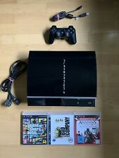 Sony Playstation 3 PS3 Fat Lady Konsole - 75 GB - Getestet + 3x Spiele