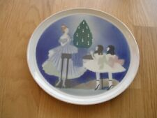 Fraureuth Weihnachtsteller Christmas Plate Am Heiligabend At Christmas Eve 1920