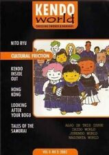 2005 Japan Kendo World 3-2 nitto ryu Collector's Magazine in English Rare!