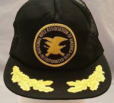 Vintage NRA National Rifle Association Mesh ~ Trucker Hat ~ Snapback Cap ~ Retro