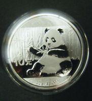 2017 China Silver Panda coin 30 gram .999 Fine 10 Yuan Chinese in Capsule
