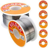 63/37 Tin/lead Rosin Core 0.5-2mm 2% Flux Reel Welding Line Solder Wire 100G