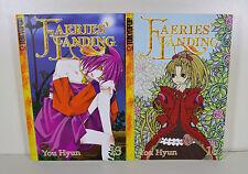 Faeries Landing Manga Volumes 13 & 15 by You Hyun (Tokyopop)