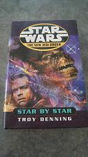 Star Wars: The New Jedi Order - Star by Star by Troy Denning (Hardback, 2001)