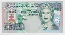 1995 GIBRALTAR BANKNOTE***FIVE POUNDS STERLING***CRISP UNCIRCULATED***       BH