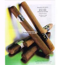 1997 Habana Gold Cigars VTG PRINT AD