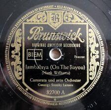 """Camarata - Jambalaya - Veradero - Brunswick - /10"""" 78 RPM"""