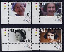 2006 FIJI 80th BIRTHDAY OF QUEEN ELIZABETH II FINE USED SET OF 4