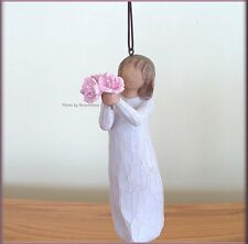 THANK YOU ORNAMENT ANGEL FROM WILLOW TREE® FREE U.S. SHIPPING
