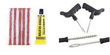 Nuevo neumático 5PCS Kit de reparación de pinchazos Herramienta para Coche Furgoneta Motocicleta 5 tira tubeless