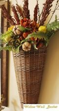 Willow Door Basket FARMHOUSE Willow Wall Basket Natural Willow Wall Pocket