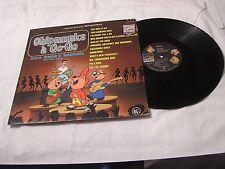 The Chipmunks LP-CHIPMUNKS A GO-GO STEREO