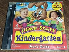 Jump Start Kindergarten Deluxe 2 CD Set
