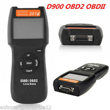 D900 EOBD ODBII OBD2 CAN Car Fault Code Reader Scanner Auto Diagnostic Scan Tool