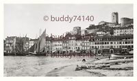 Superbe photographie - Grand Format - 1890 - Cannes - Le vieux port 100 x 60 cm