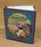 Walt Disney's Snow White and the Seven Dwarfs Small Hardcover Collectible Book