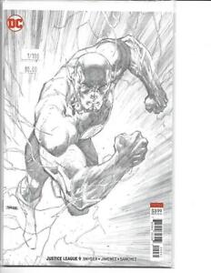 Justice League 9 Variant 1:100 Jim Lee Flash Cover DC FREE SHIP