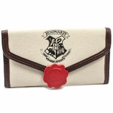 NEW OFFICIAL HARRY POTTER PRIVET LETTER CREAM ID & CARD TRI-FOLD PURSE
