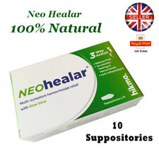 NEO HEALAR NATURAL HEMORRHOID HAEMORHHOID PILES SUPPOSITORIES REMEDY TREATMENT