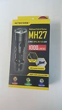 Nitecore MH27 CREE XP-L HI V3 LED RGB multi-coloured LED Flashlight 1000 Lumens