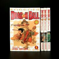 Dragon Ball Vol 2 3 4 5 Akira Toriyama 2000-01 Viz Graphic Novels Manga Shonen
