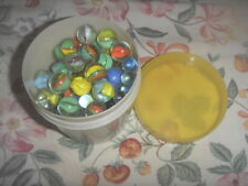 Vintage Lot of Collectible Marbles Nice Condition for cheap sale