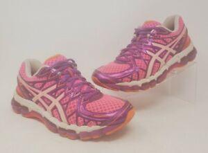 ASICS GEL-Kayano 20 Anniversary Edition Pink Purple Running Shoes Size 7 US