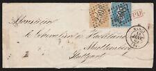 1865 - FRANCIA BUSTA CON NAPOLEONE 10+20C. PER STOCCARDA