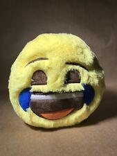 "Emoji Plush Smiley Tears of Joy Yellow Coin 7.5"" Piggy Bank"