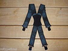 OREGON Hosenträger , mit Metallklips schwarz
