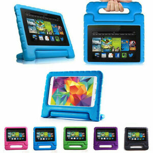 "TOUGH KIDS SHOCKPROOF EVA STAND Case Cover Fits For Huawei MediaPAD 7"" Tablet"