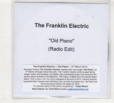 (HE266) The Franklin Electric, Old Piano - 2015 DJ CD