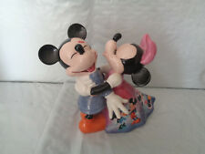 2005 Disney - Love & Laughter - Once Upon a Kiss Bell - Mickey Minnie - Bradford